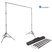 LimoStudio Photo Video Studio 3m Adjustable Muslin Background Backdrop Support System Stand, AGG1112