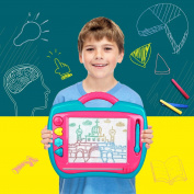 Peradix Doodle Magnetic Drawing Board Sketch Tablet Education Writing Drawing Painting Colourful Erasable Toy for Toddler Kids