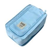 Wrapables Storage Organiser Shoe Bag, Sky Blue