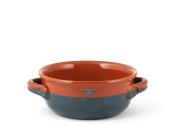 VULCANIA CASSERUOLA 2 Handles, Ceramic, Blue