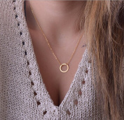 Yean Necklace Simple Pendant Necklace for Women and Girls