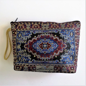Nakkash Cosmetic Case red blue and maroon