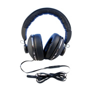 Large Over-Ear Head-Phones with Luxurious Comfort Fit - Smart-Phone Compatible. BM-RTR777