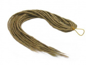 Elysee Star Dreads #24 Natural Blonde Dreadlocks Double Ended Synthetic Dread