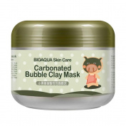 Pawaca Piggy Carbonated Bubble Clay Mask, Deep Pore Cleansing Face Mask Skincare Whitening Oxygen Mud Moisturise Deep Cleansing Mud Mask-100g