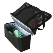 Outdoor Fashion Waterproof Easy To Clean Picnic Bag Nylon,Black