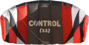 Flexifoil 1.7m2 / 2.4m2 / 3.3m2 Control 3-line Kitesurf Trainer Kite Including Bar, Lines and Quick Release Safety System with 90 Day Money Back Guarantee! By World Record Power Kite and Kitesurf Designer - Safe, Reliable and Durable Power Kiting, Kite ..