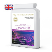 D-Mannose 500mg x 90 Capsules | Urinary Tract Infections (UTI), Cystitis & Bladder Support | 100% Natural | Promotes Healthy Urinary Tract And Bladder Function | Washes Away Undesirable Particles | Minimal Impact On Your Blood Sugar | High Strength Nat ..