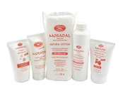 Mosadal Cosmetic Hand and Foot Care Set 5 in 1 Professional Hard Skin Remover Set Mosadal Lotion 250ml and much more.
