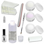 Acrylic Starter Set - Siena - professional nail kit - nail starter kit - Acrylic Liquid - Acrylic Powder