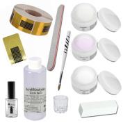 Acrylic Starter Set - Florenz - professional nail kit - nail starter kit - Acrylic Liquid - Acrylic Powder