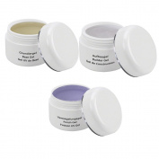 UV Gel Kit -Test Kit - 3 x 30 ml, 1 x UV Base Gel, 1x UV Buildergel, 1x Finish Gel