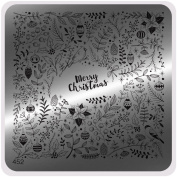 MoYou Nails Christmas Image Plate 452 Stamping Design Nail Art Easy to Use