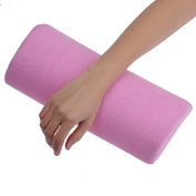 Soft Nail Art Hand Pillow Cushion Arm Wrist Rest for Nails Salon Manicure Accessories Pink