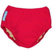 Charlie Banana 2-in-1 Swim Nappy and Training Pants, Small, Red