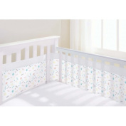 BreathableBaby Airflow Four Sided Cot Mesh Liner, Marabou