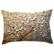 Bodhi2000 30x50CM Rectangle Pillow Cover Cushion Case Hidden Zipper Closure Pillowcase