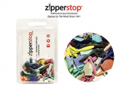 ZipperStop Wholesale - Zipper Repair Kit Solution YKK #2CCU Zipper Heads - Sliders Pulls #2CCU (Invisible Style) Assorted Colours - package CLAMSHELL BOX W/HANGER