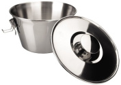 ibili Pudding Mould with Lid, Silver, 18 cm, 2-Piece