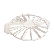 KAISER Pâtisserie cake divider, plastic, Ø 31.5cm. High form stability, fillable on both sides, 2 lids for easy turning out