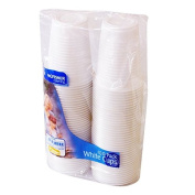 Kingfisher KC100CUP Disposable Plastic Cups 210ml Pack Of 100
