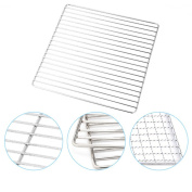 Barbecue Grill Baking Grid Barbecue Mesh Net Cooking Grates Sheets 30cm x 25cm