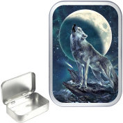 TEEZ VARIOUS DESIGNS NOVELTY 50ml/1oz SILVER HINGED TOBACCO TINS,POCKET TIN,PILL TIN, KEEPSAKE BOX, STASH CAN