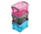 Really Useful Box 0.3 Litres Pack of 3 Assorted - Colour