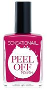 SensatioNail Peel Off Polish, The Fuchsia is Ours