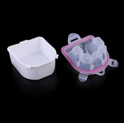 Yeah67886 Durable Resistant Soak Off Warm Nail Spa Bowl Manicure Tool
