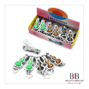 """12 x SMALL STAINLESS STEEL HAND TOE NAIL CUTTER CLIPPER TRIMMER """"Violin"""" WHOLESALE FROM UK"""