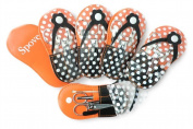 Spove Manicure Sets Pedicure Set Polka Dot Flip Flop Nail Clippers Manicure Kit Nail pack of 6