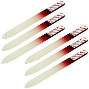 Innovate Glass Double Sided Cosmetic Nail Buffer File Carry Size - Single Pack x 6 Nail Files