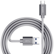 ESR Type C to A USB 3.0 Cable (2m), Grey
