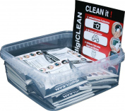 s + M Rehberg 124.75 digiCLEANER Lens Cleaning Paper Display of 25 Black