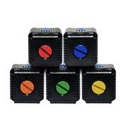 Lume Cube Waterproof Coloured Charging Port Cap Kit - Red/Blue/Orange/Green/Yellow