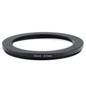 Cammate Step Down Ring 72-67mm Stepping Down Adapter Filter Ring for 72mm Lens SLR & DSLR Camera