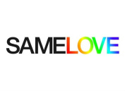 "SAMELOVE LGBT Gay Pride Temporary Tattoo, Set of 2, Size – 2 ½"" x ½"""