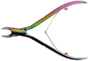 Tooltron Titanium Cuticle Nipper, Multi-Colour, 10cm