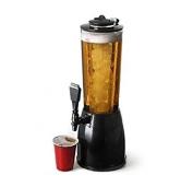 Smartlife 2.5L Ice Core Beer Dispenser Beverage Beer Juice Dispenser Beverage Pourer Machine Bar Home St. Patrick's Day Party Accessories