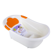 Dream On Me Deluxe Infant Bathtub, Orange