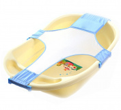 Baby Cotton Adjustable Bath Seat Bathtub Infant Shower Net Bathing Support