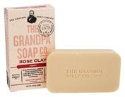 Grandpa Soap Co. Grandpa's Bar Soaps Rose Clay 130ml