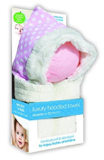 e-cloth Luxury High-Performance Hooded Baby Bath Towel with Micro-dry Technology - Pink, Regular