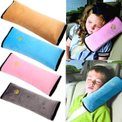 Seatbelt Travel Neck Support Pillow SOFT Cover