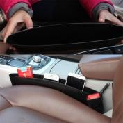 Grocery House Car Seat Catcher Gap Filler Organiser Side Slit Pocket