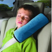 Car Seat Safety Belt Protect Shoulder Pad Cover Adjust Vehicle Seat Belt Harness Neck Head Support Pillow for Kids Children Baby Drivers