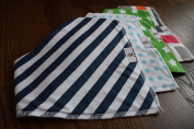 baby bandana bib with snaps by omg baby boom. Gift idea for new moms.