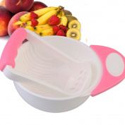 Candora Baby Food Masher and Bowl Mash and Serve Bowl for Making Homemade