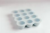 Lili-Pop KIDS #1 Silicone Baby Food Storage/Freezer Tray with lid! Multi-purpose- Bake/Freeze/Toddler Snack! NO BPA & Phthalates! FDA Approved. Free Organic Starter Recipes. Lifetime Guarantee